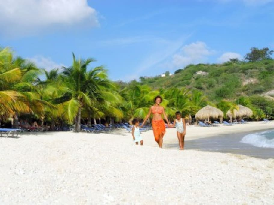 Blue Bay Beach ideal for families with children