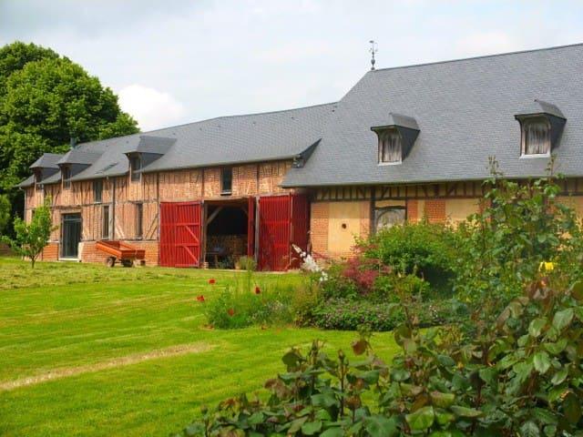 Le Pré de la Girouette -  - Malleville-sur-le-Bec - Huis