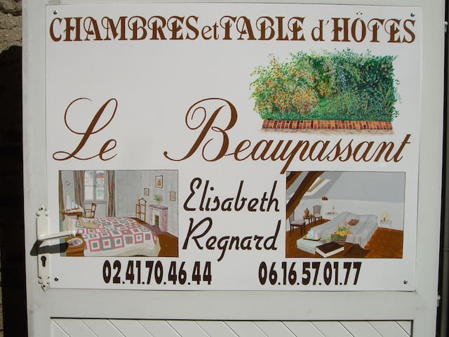 Le Beaupassant Suite pour 5 adultes - Vihiers - Bed & Breakfast
