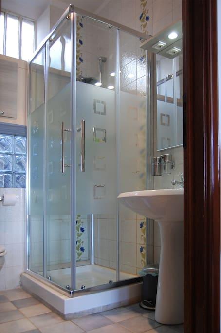 Piccolo bagno privato, con accesso dal salone della casa