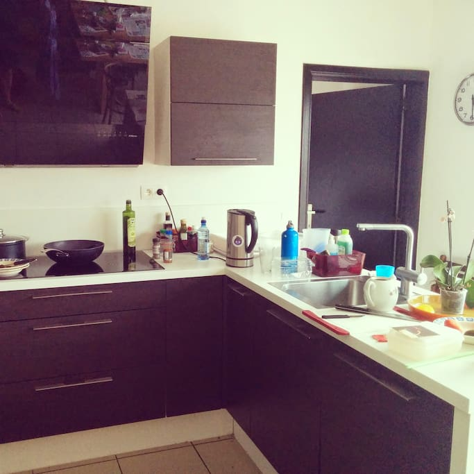 Modern Kitchen, actually being used
