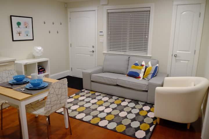 1-bedroom gem in beautiful Dunbar