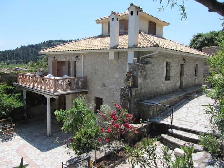 Traditional villa near the sea