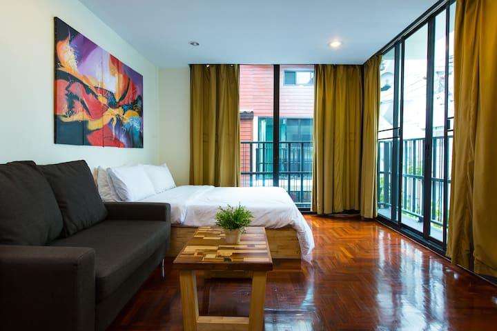 FABB Modern 4. BTS Sapan Taksin - Banguecoque - Apartamento