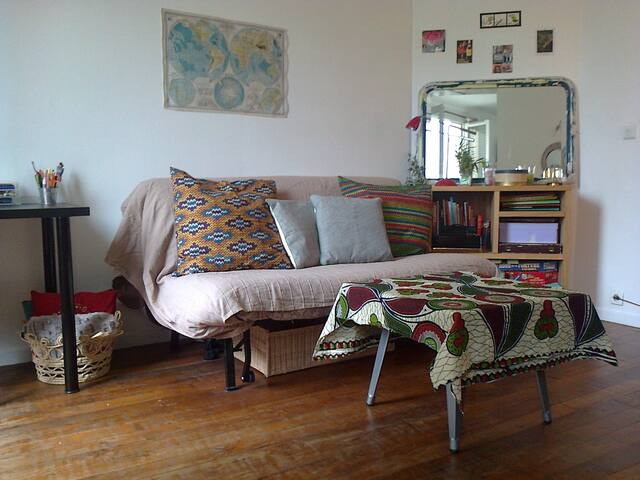 Petit appartement  parisien