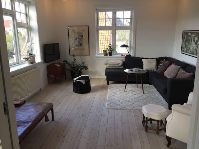 Big, beautiful villa apartment in Copenhagen