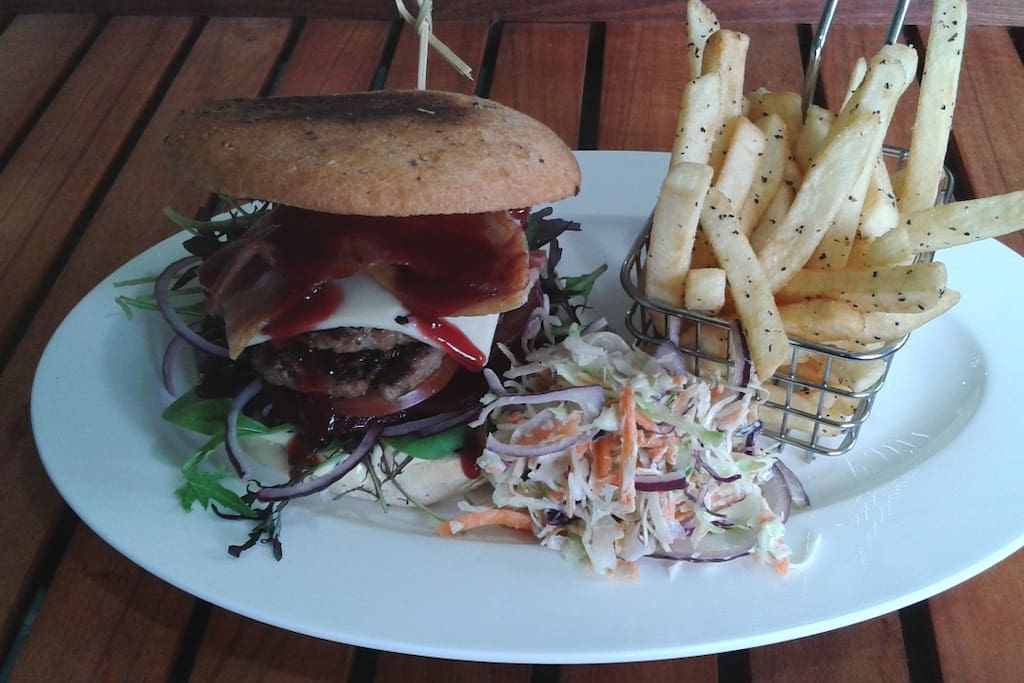 Our Lamb Burger