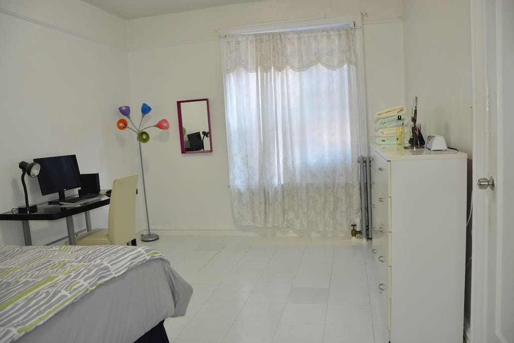 Bedroom is located at first floor
