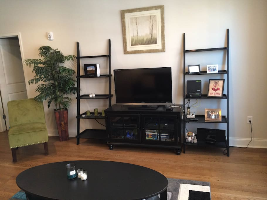 Living Room - LED TV, fully furnished.