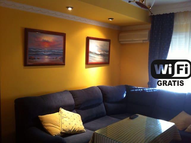 Casa en Bahía de Cádiz. Puerto Real - WIFI Gratis.