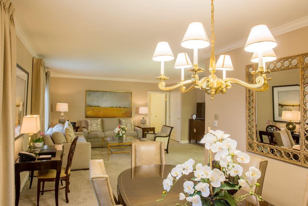 2 Bedroom Apt In Luxury Hotel A Birmingham Michigan Stati Uniti