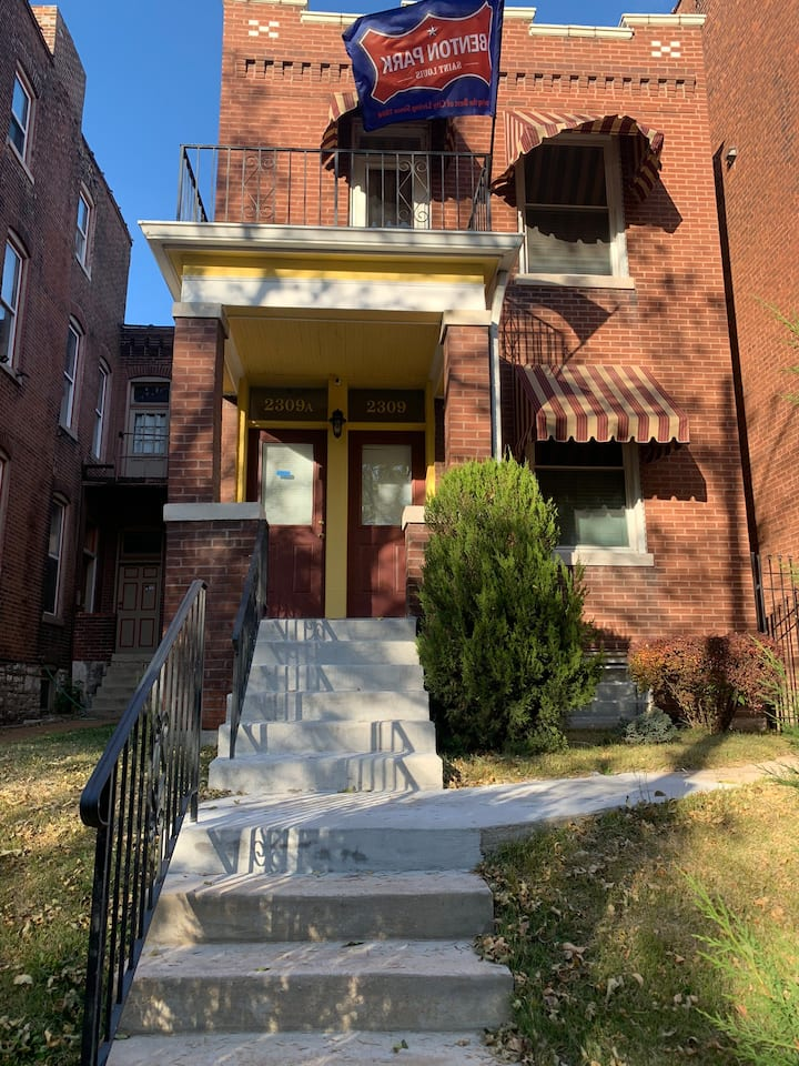 Historic Benton Park home across from the park