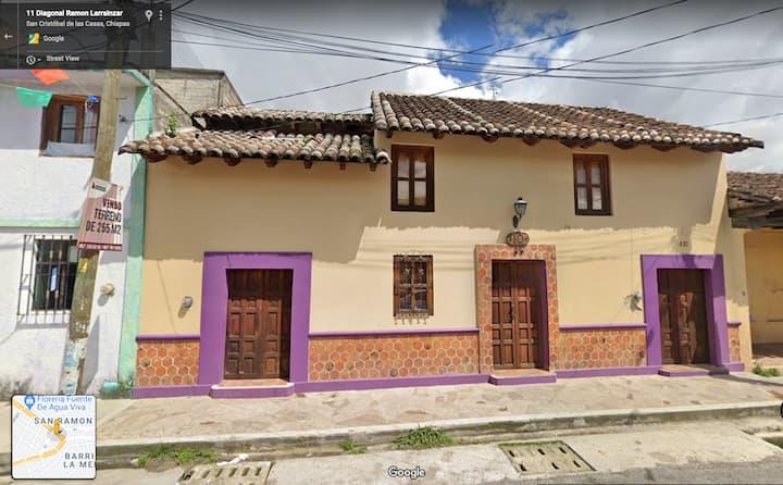 Casa Arcilla, en el centro de San Cristóbal