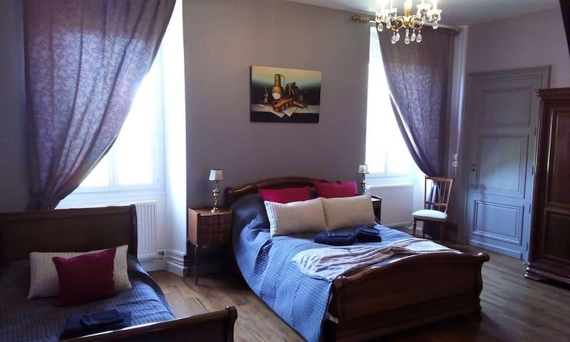 chambre Louis Philippe pour 3 voyageurs