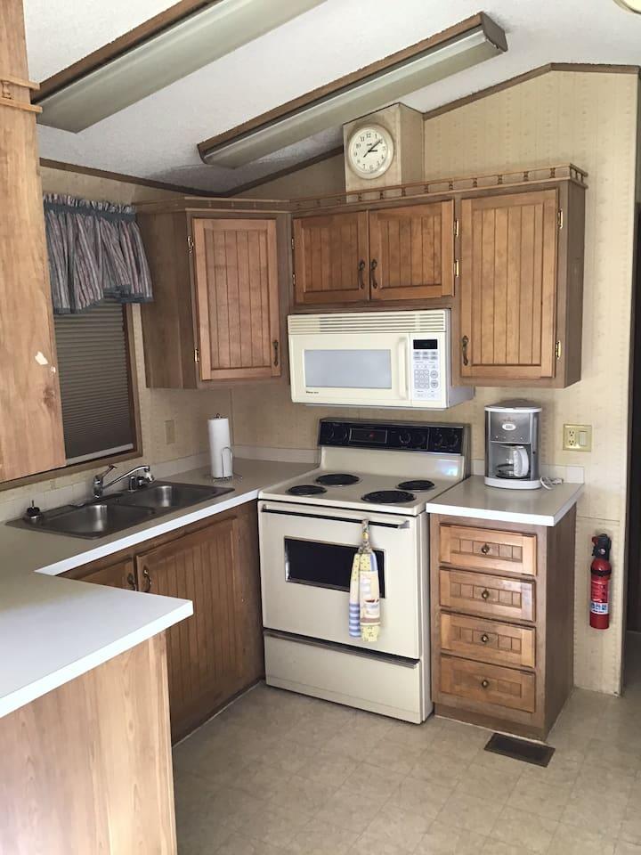 55+ Park Model - Full Kitchen