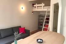 Séjour / mezzanine