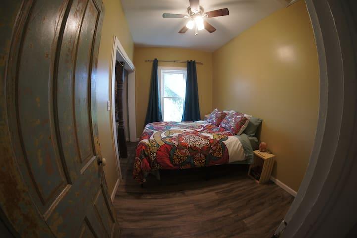 Master Bedroom is a Queen