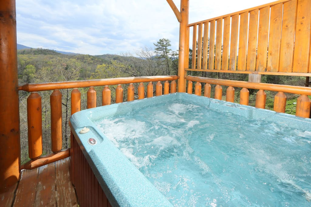Hot Tub - relax and enjoy