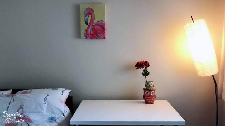 旧金山的漂亮静心小公寓独立房间