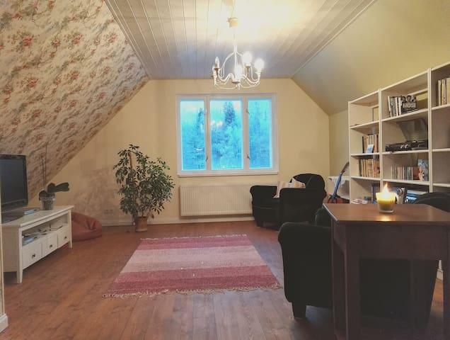Cosy country-style flat - Otepää - Dům