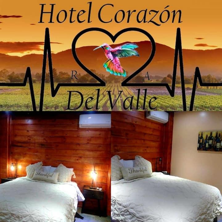 Corazón del Valle.RyA Valle de Guadalupe #2 &SPA