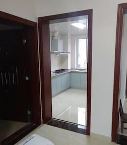 新房配套设施齐全,全部新装修。拎包居住,装修完好对外长期出租,交通便利 - Suqian Shi - Huoneisto