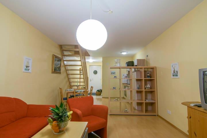 Wohnung Fischreiher am Wasserturm - Röbel/Müritz - Apartment