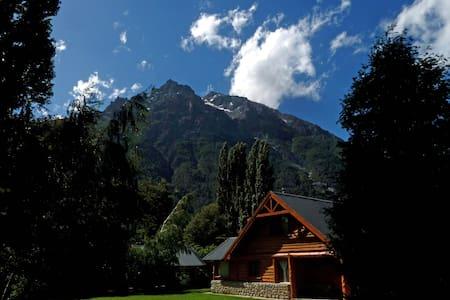 Wooden cabin 100m from the lake - San Carlos de Bariloche