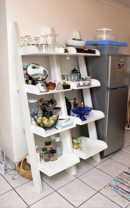Extra kitchen utensils storage
