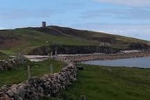 Tower at Crohy head - 20 mins away