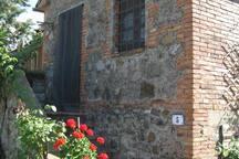 Vigneti Cottage: Apt Rosa Entrance