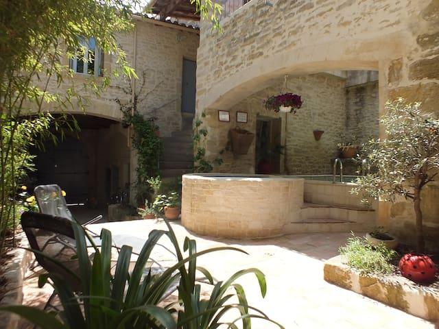 le Vidourle aux Terrasses d'Aubais - Aubais - Квартира