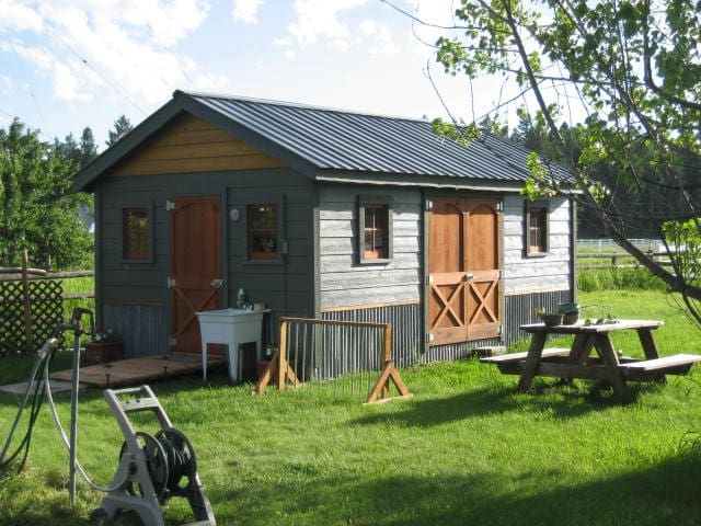 Cutie Cabin Sleeps 4-  Open from Jun through Sept. - Columbia Falls - Cabane
