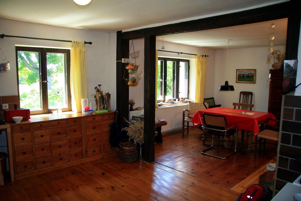 Wohnküche / Bereich Küche