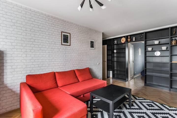 Двухкомнатная квартира в Новых Черемушках