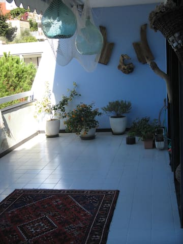 Stanza singola con grande terrazza - Chiavari - Apartemen