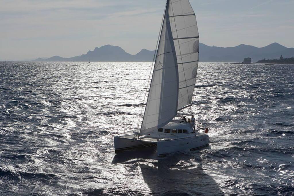 """Il Catamarano """"Miragua"""""""
