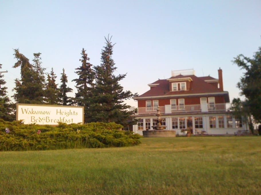 Welcome to Wakamow Heights B&B. You're going to love it here!