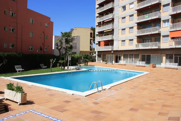 Apartment 3 minutes from the beach, con wi-fi, cli