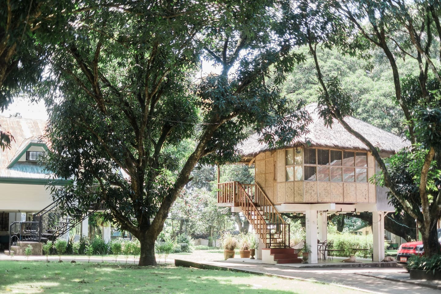 Charming Kubo at Numana farm, your cosy rustic retreat!