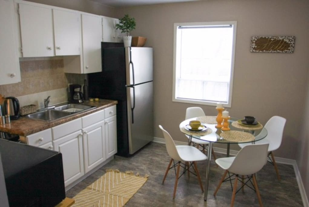 Kitchen with dining nook
