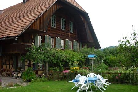 Schlafen im Emmentaler Bauernhaus - Lauperswil - Daire