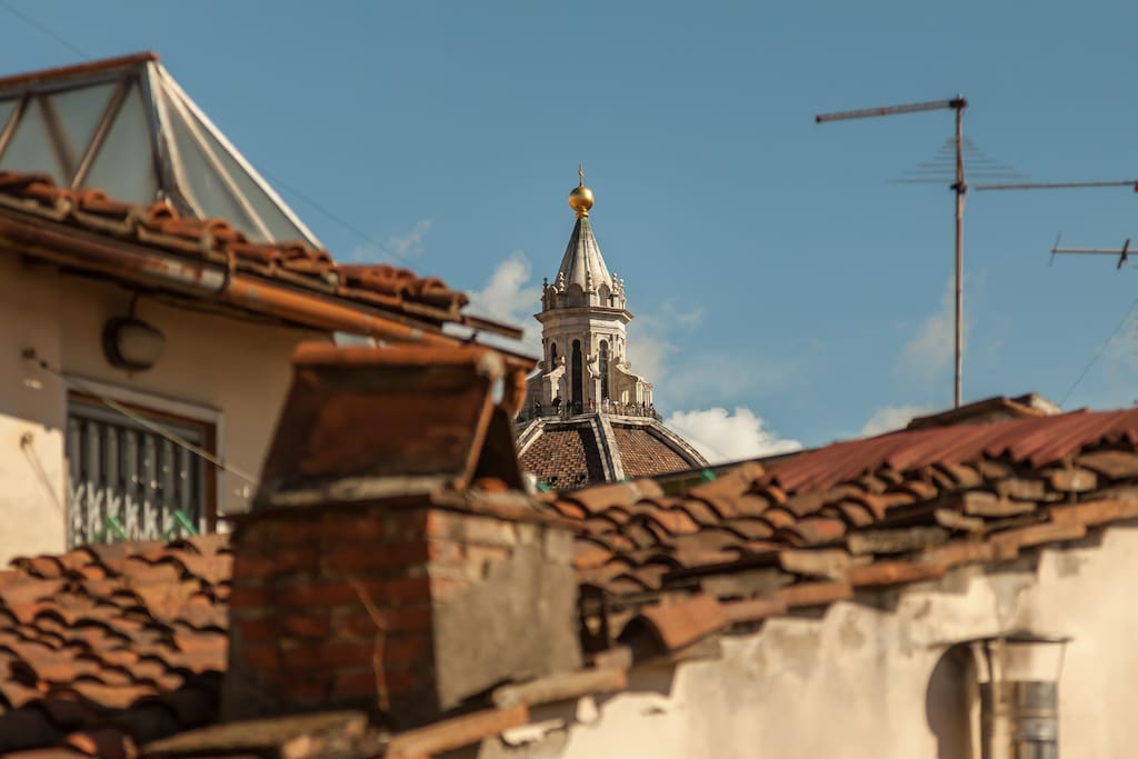 View of the DUOMO from the window