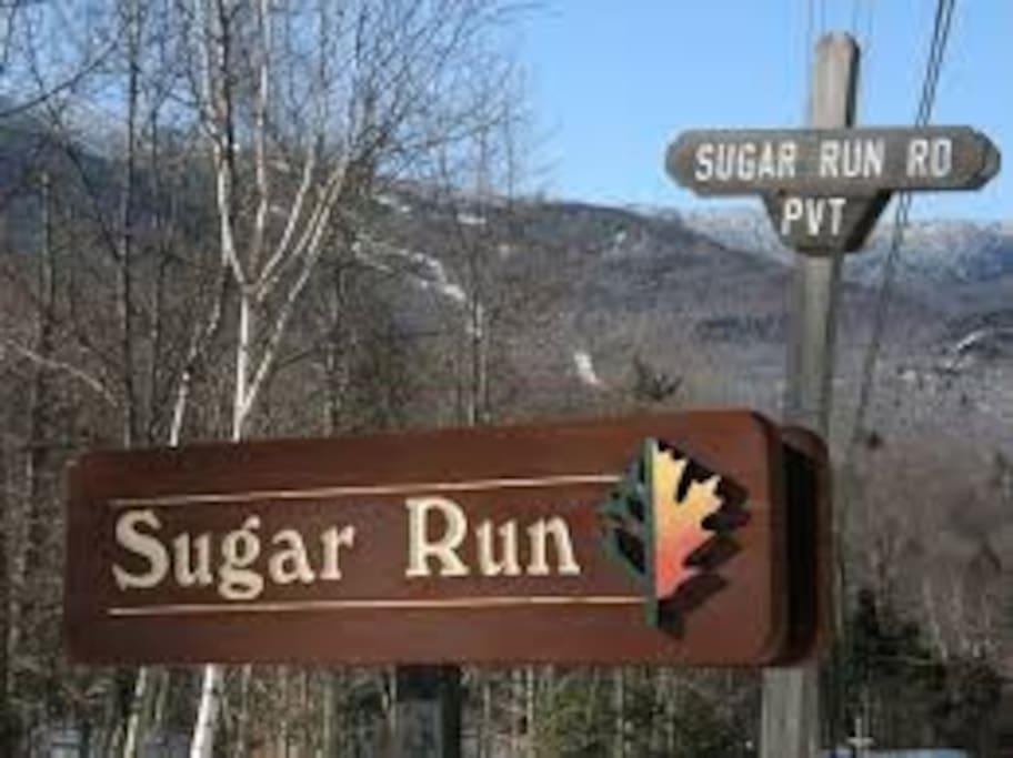 Close to Sugarbush.