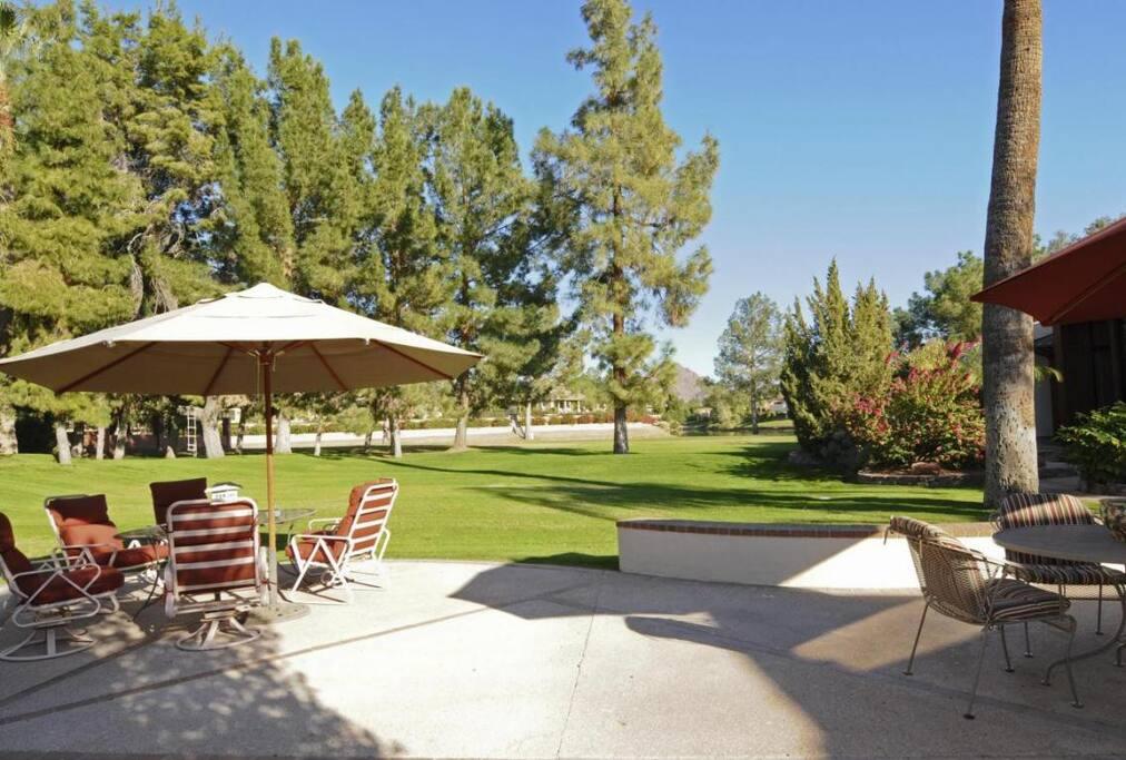 Links Golf Course, Backyard