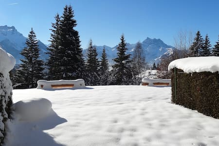 Le Panoramic, appartement style chalet - Villars-sur-Ollon