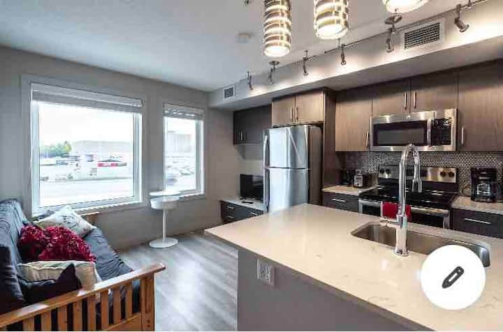 Cute 1 bedroom near downtown, banff,canmore-218