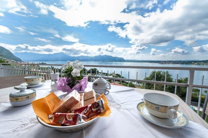 Appartamento  vista lago d'Iseo  PICCOLO PARADISO - Sarnico - Daire