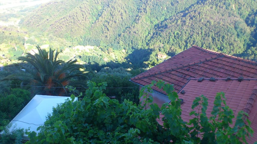Suggestiva dimora in borgo ligure - Tivegna - House