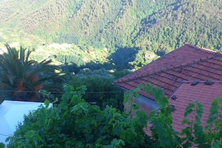 Suggestiva dimora in borgo ligure - Tivegna - Haus
